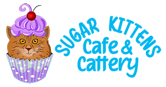 Sugar Kittens Cat Cafe Logo